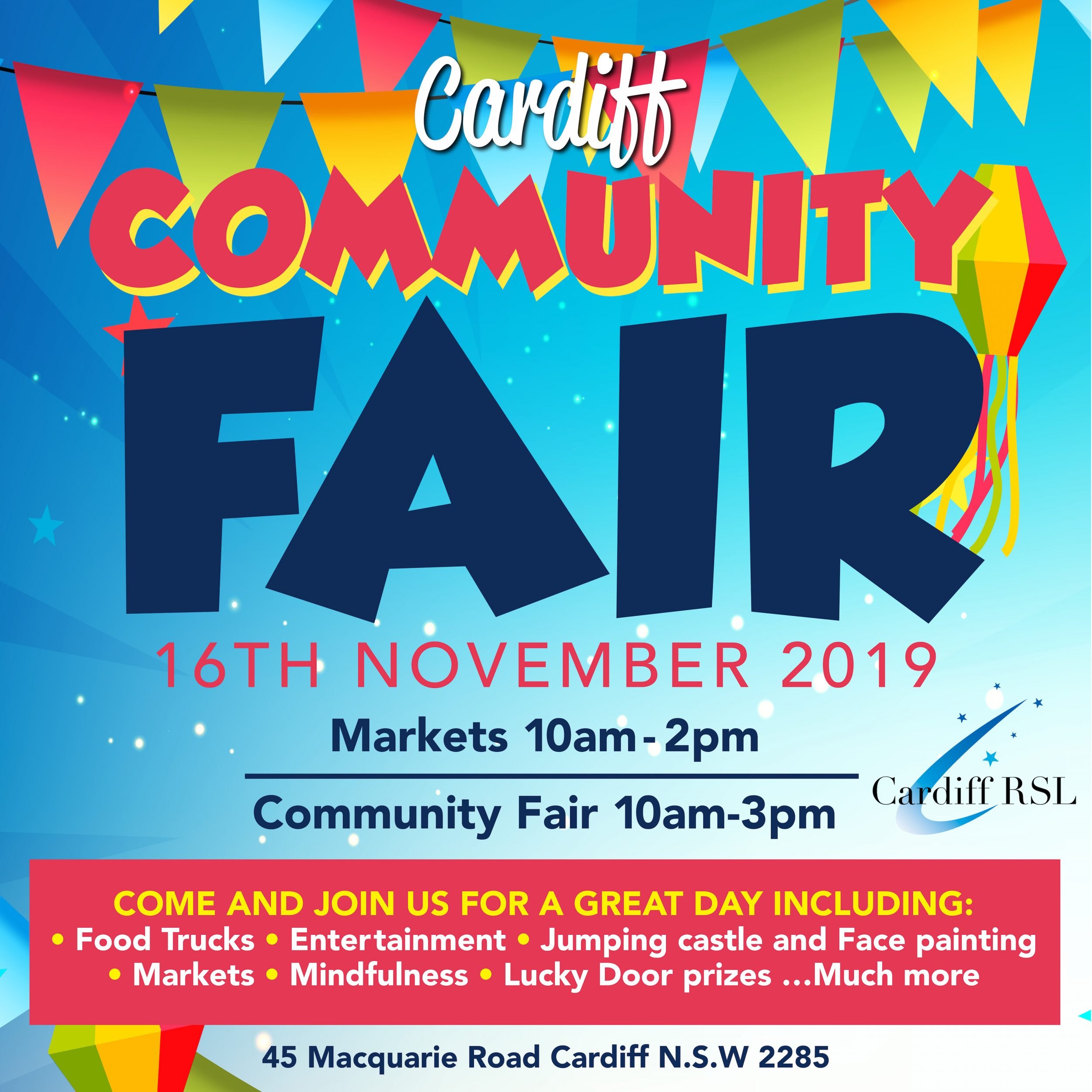 CARDIFF RSL COMMUNITY FAIR