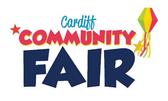 Cardiff Community Fair logo with lantern and stars