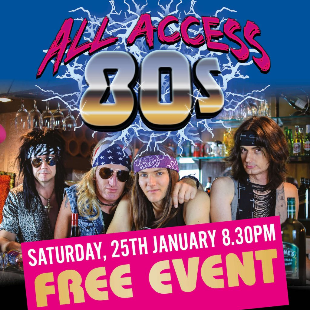 CARDIFF RSL ALL ACCESS 80S