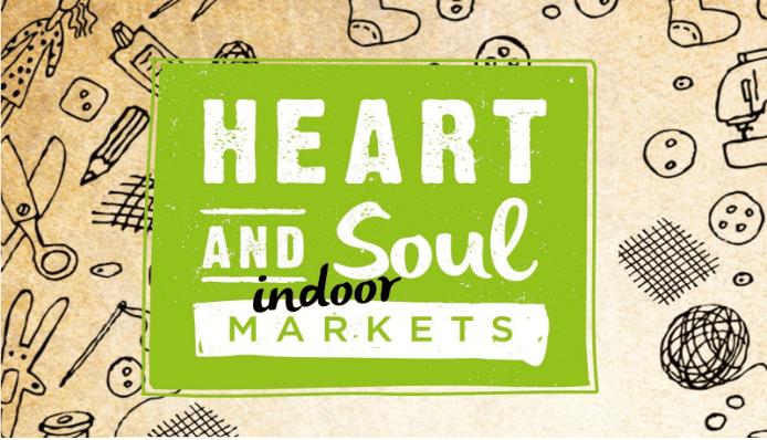 design for Heart and Soul Indoor Markets logo
