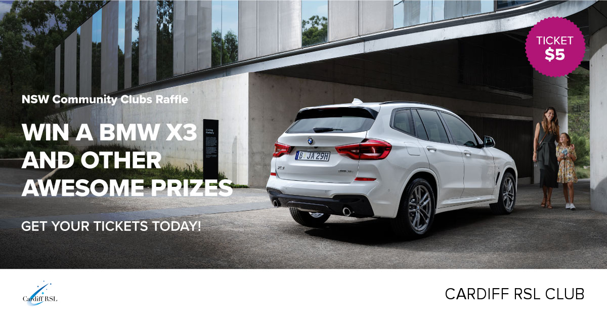 Win a BMW X3 and other awesome prizes!